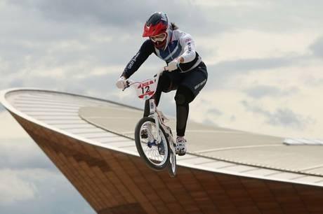 Team GB BMX Hero, Shanaze Reade