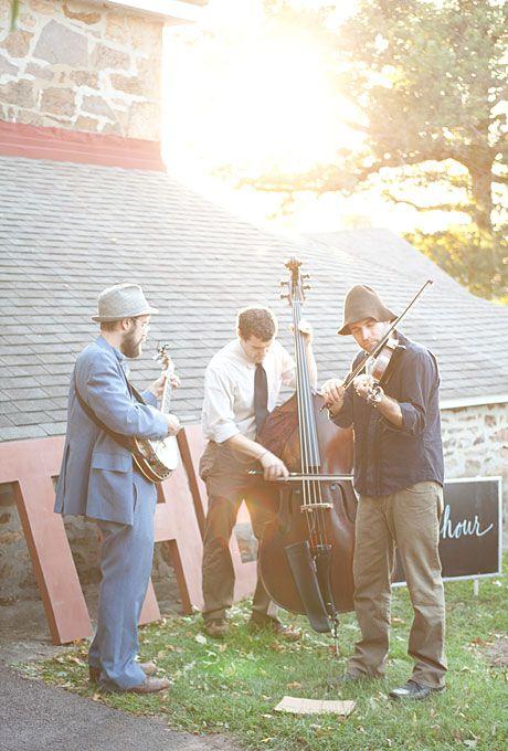 A Rustic Outdoor Wedding In Audubon PA