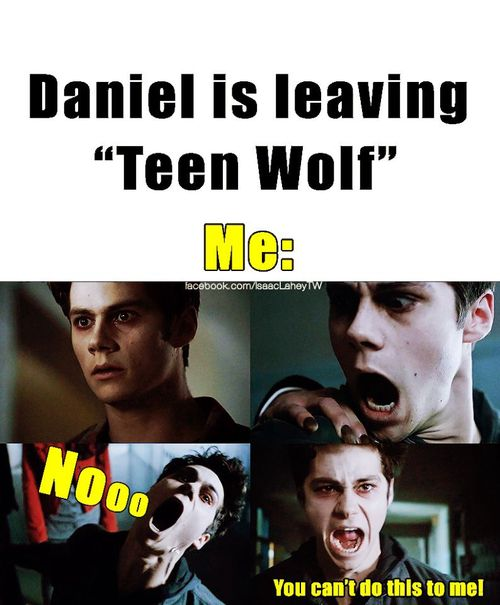 It's true daniel shaman (Isaac) is leaving teen wolf. He asked Jeff not to kill him just in case he wanted to come back. He said he just wanted some time to explore and see if he can be in a movie. If it doesn't work out, he'd like to return, though.