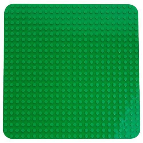 Start creations here on this large Lego Duplo Green Baseplate!