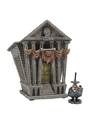 The Nightmare Before Christmas Mayor & Halloween Town City Hall Figure Set,