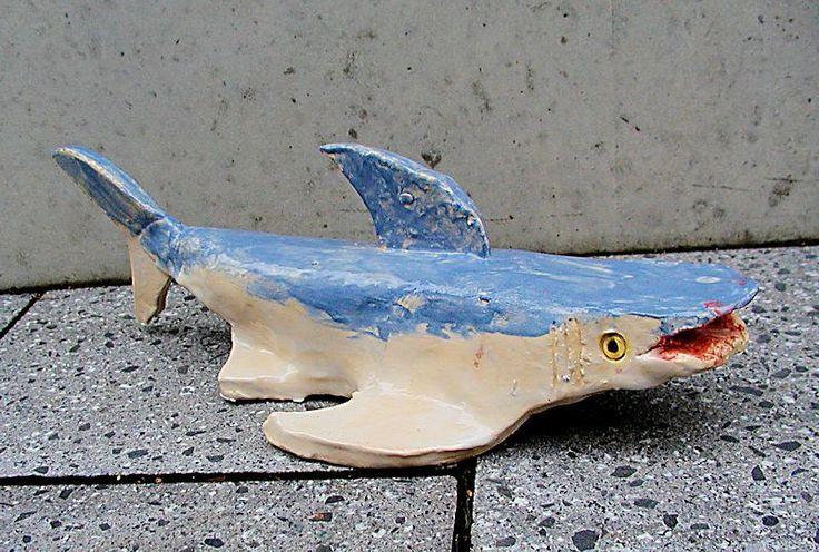 5 Tierformen aus Ton, Meerestiere... von twolives auf DaWanda.com