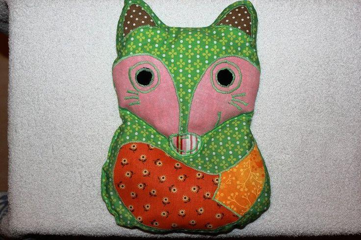 Wärmekissen - Kirschkernsäckchen Fuchs - ein Designerstück von bastelmaus19 bei DaWanda