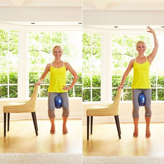 Tighten and slim down your inner thigh with these easy moves you can do in your own home. These exercises are simple but you will feel the burn.