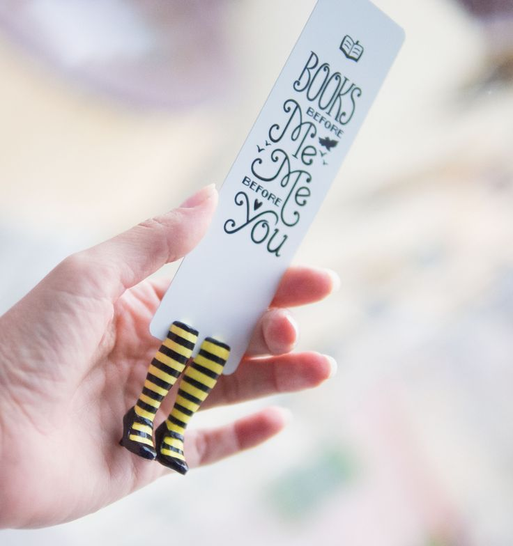 This bookmark is as funny and easygoing, as Louisa Clark - one of the main characters of 'Me Before You' by Jojo Moyes. New York Times book reviewer wrote that after reading this novel you will want t