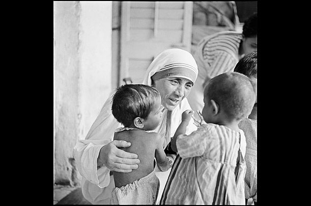 """""""It is a poverty to decide that a child must die so that you may live as you wish.""""   ― Mother Teresa"""