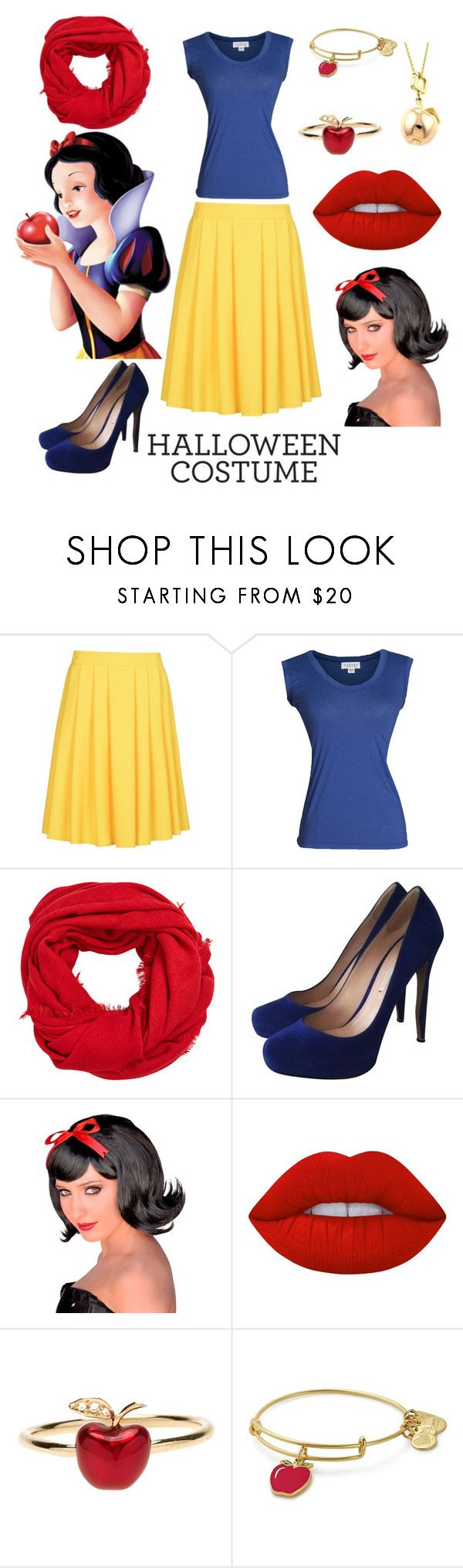 """Snow white"" by liljadoggh ❤ liked on Polyvore featuring 8, Velvet by Graham & Spencer, MANGO, Nicholas Kirkwood, Lime Crime, Alison Lou, Alex and Ani and Louis Vuitton"