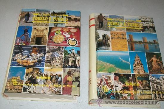 La Región de Murcia pueblo a pueblo.-- Murcia : La Opinión, [1988]. --    2 v.: il.col.-- Signatura: 39(MU)/ REG /reg, 1-2