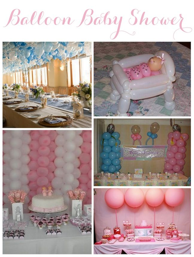 Linen, Lace, & Love: Balloon Decor Inspiration #balloons #babyshower #shower #baby #twins