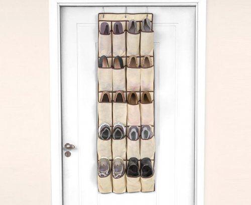 Organizador de sapatos para porta - 20 divisórias - Armários e Closets | Ordenato!
