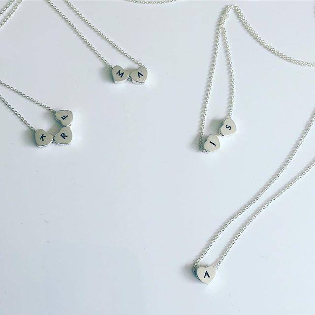 So busy getting these stunning pieces out to you lovely people's today! #silver #hearts #lovehearts #engraved #nzdesign #dunedin #beautiful #christmas #christmasgift #shoponline #nzmade #withlove #lovechristmas  #lovexmas #loveloops #necklace