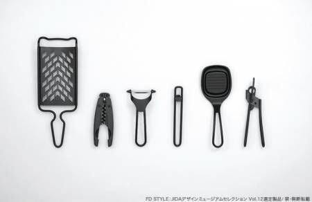 Uber cool kitchen utensils  メーカー:プリンス工業株式会社   デザイナー:萩野光宣