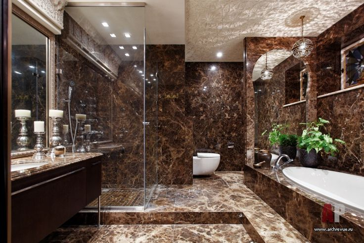 Emperador Marble Bathroom Interior Design Pinterest