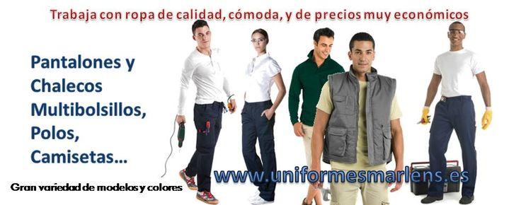 Tienda online de uniformes de trabajo para profesionales, escolares, bandas de música y deportes