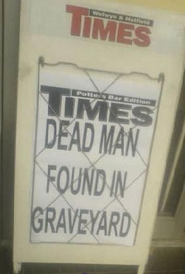 Most graves are stoned, some have plaques ░ funny headlines | funny news headlines (26)