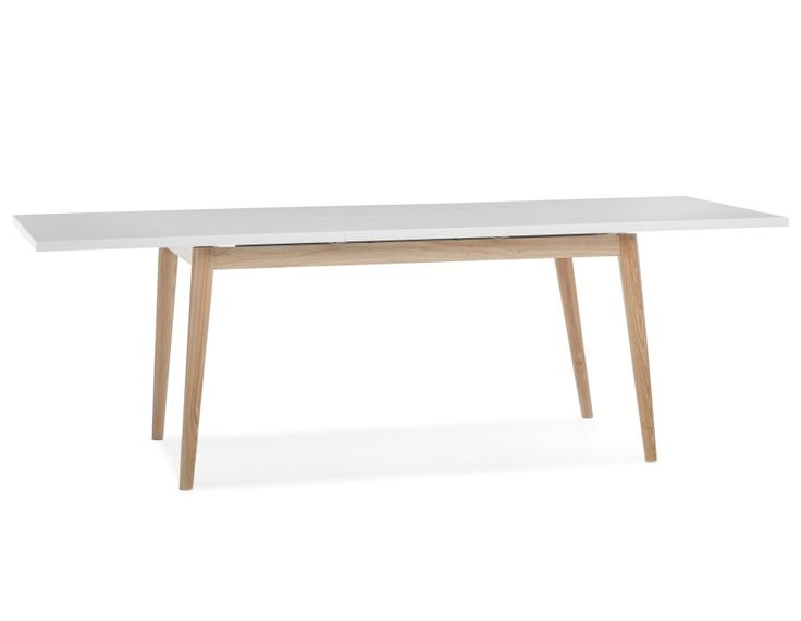 Table emerson structube blanc salon pinterest for Structube meuble