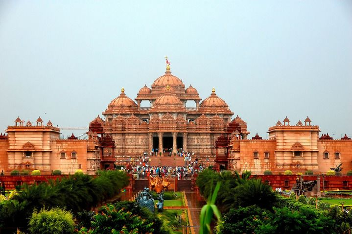 Храм Акшардхам, Дели, Индия