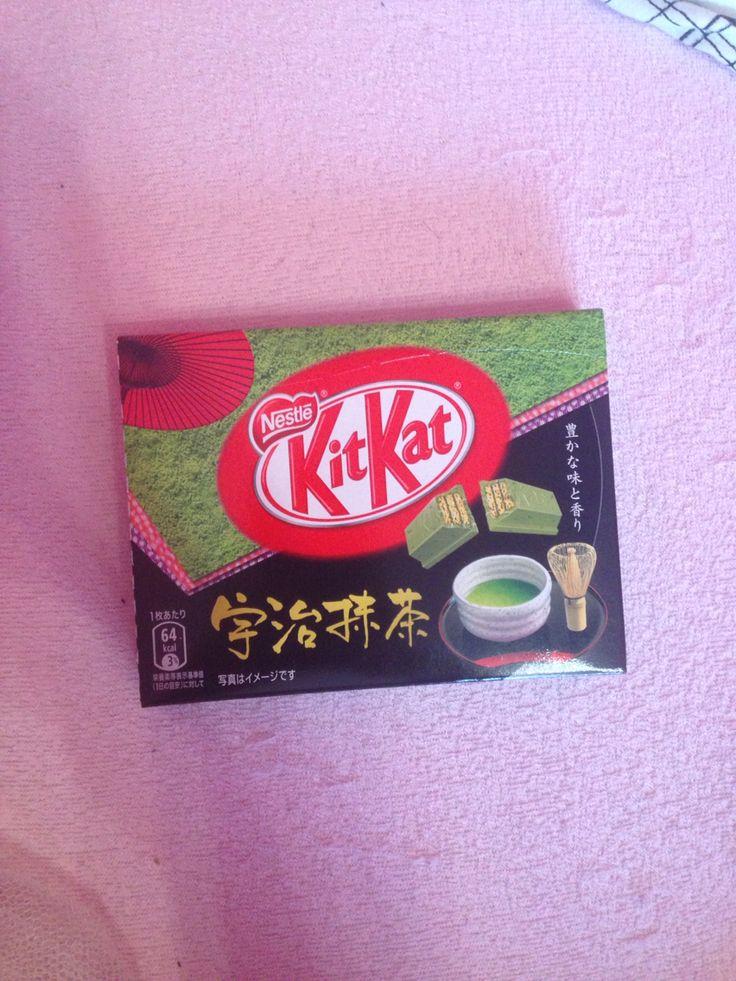 Matcha KitKat from Japan