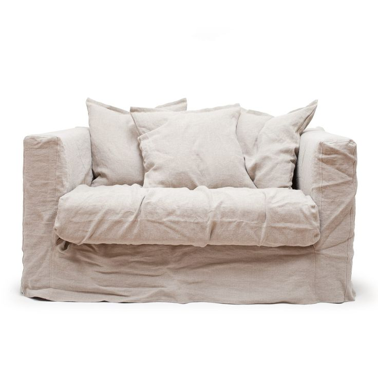 Le Grand Air Loveseat, Savage Linen i gruppen Møbler / Lenestoler / Lenestoler hos ROOM21.no (Loveseat5)