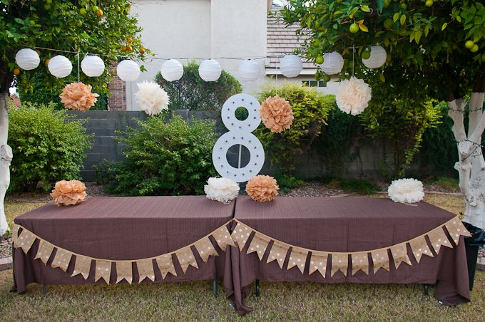 Life with Fingerprints: 8 is great party, LDS Baptism, Baptism dress, DIY marquee