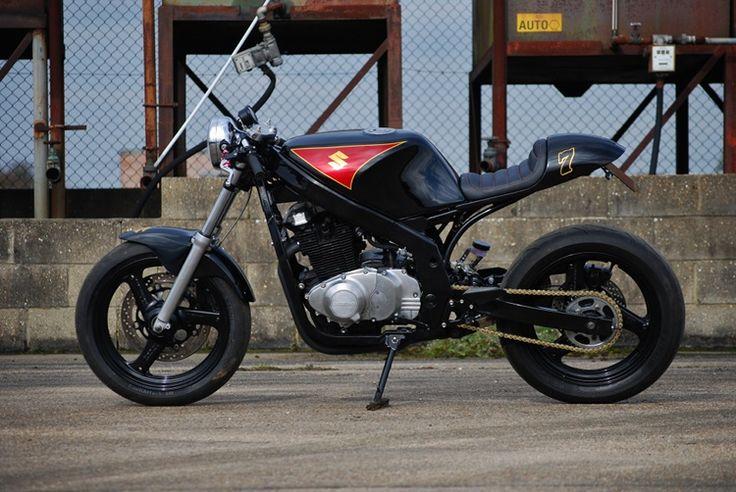 Suzuki GS500 Cafe Racer Project