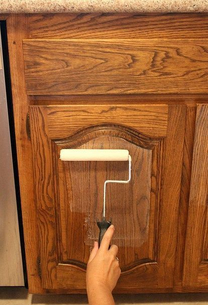 My New Favorite Way to Paint Kitchen Cabinets | Hometalk No Sanding!!!