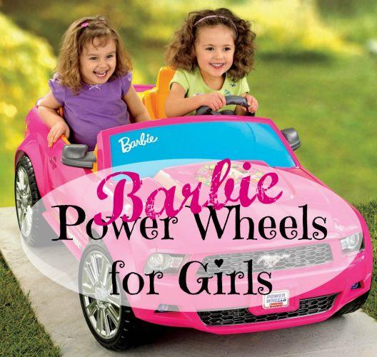 Barbie Power Wheels for Girls #Barbie #RideOneToys #GirlsPowerWheels