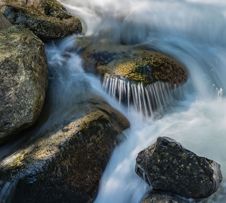 "Cascade Detail, from the post, ""Moving Toward Wholeness"" 