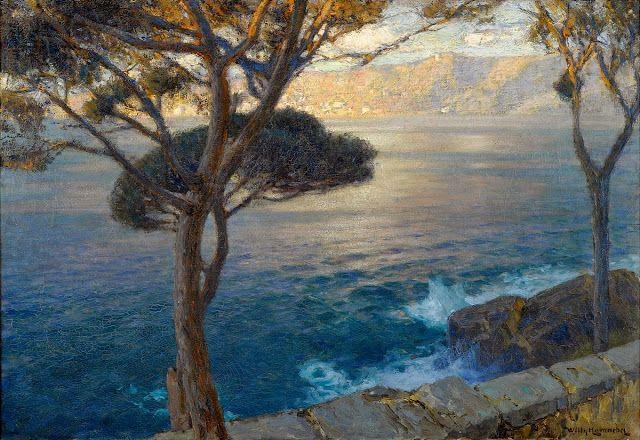 Le Prince Lointain: Willy Hamacher (1865-1909), La Riviera italienne.