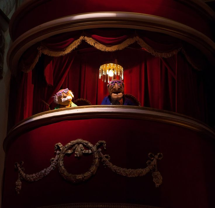 Hollywood Studios - Statler and Waldorf