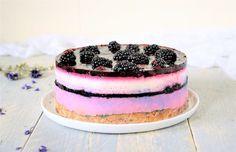 oh my pie, glutenvrij, lactosevrij, gezond genieten, bramen, taart, verhaal, genieten, roze, kidsproof, cheesecake, lactosevrij