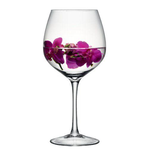 Big Wine Glasses for Centerpieces   LSA Midi Wine Glass 134oz / 3.8ltr   Giant Wine Glass, Oversized Wine ...