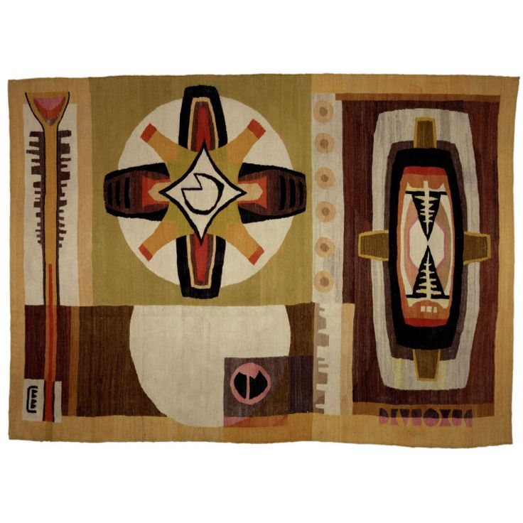 Modern African Tapestry.               So Neat  !!