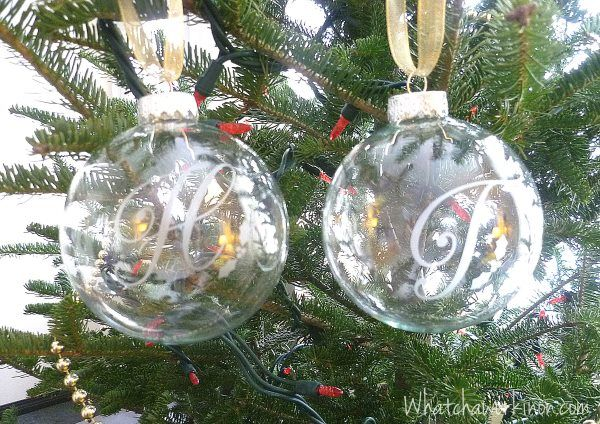 Etched Glass Balls