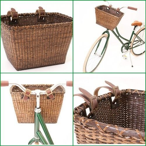 Pet Basket Storage Dog Cat Ride Bike Front Handlebars Bicycle Carrier Picnic NEW