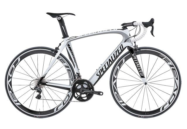 Best Road Bikes of Spring 2012: Specialized Venge Pro Mid-Compact. $6,600.  This is my hubby's bike.
