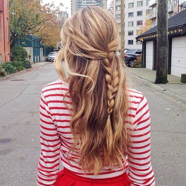 Simple Hairstyle Up : Best 25 school hairstyles ideas on pinterest simple school