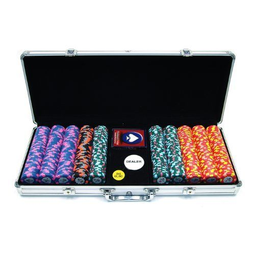 Paulson 500 World Tophat and Cane Paulson Clay Chips with Aluminium Case (Silver) by Paulson. $799.99. ORLD PAULSON TOPHAT & CANE POKER CHIPSA beautiful set of professional full clay casino quality poker chips. This is the exact same material and design of chips used in most casinos around the world. This chip is manufactured and engineered by Paulson, the undisputed leader in professional casino poker chip manufacturing. This chip is the highest-quality clay available...