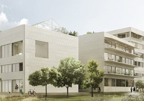 Oscar Properties : Brofästet #oscarproperties facade, architecture, design, stockholm, sweden
