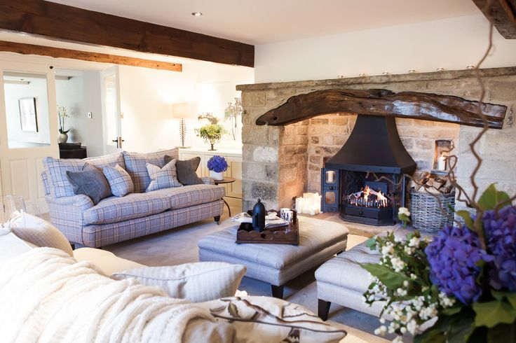 tartan style living room