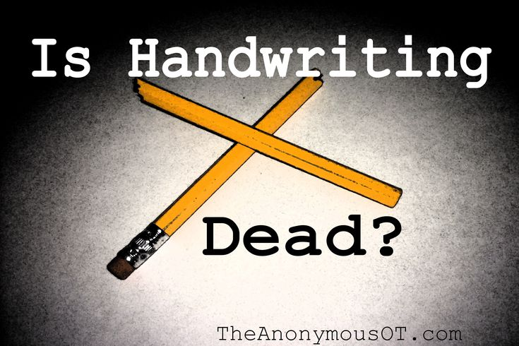 Is Handwriting Dead? Let's hope not...