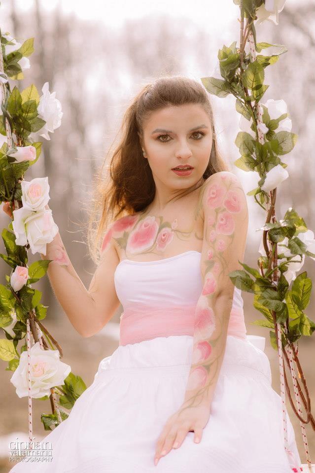 Makeup, Hair & Dress by Andreea Matran |Make-up Artist