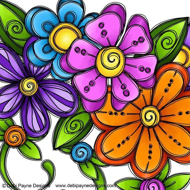 It is Doodle Flower Friday!  What better way to end the week than with lovely…