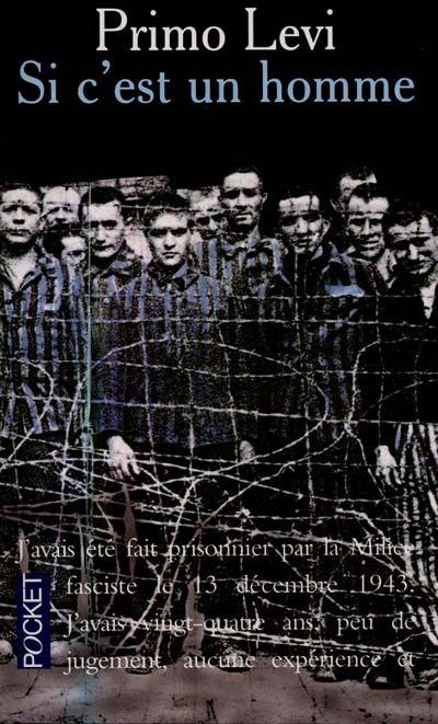 En 7é position ex aequo : Si c'est un homme par Primo Levi. Primo Levi évoque sa déportation et sa vie dans un camps de concentration.