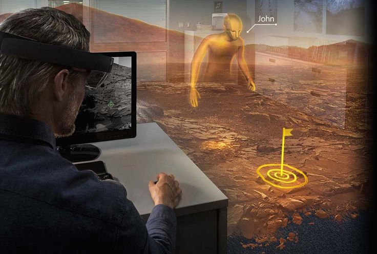 The era of holographic computing is here. When you change the way you see the world, you can change the world you see.