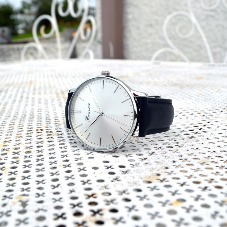 Classic Silver - www.bonvier.com #watch #silver