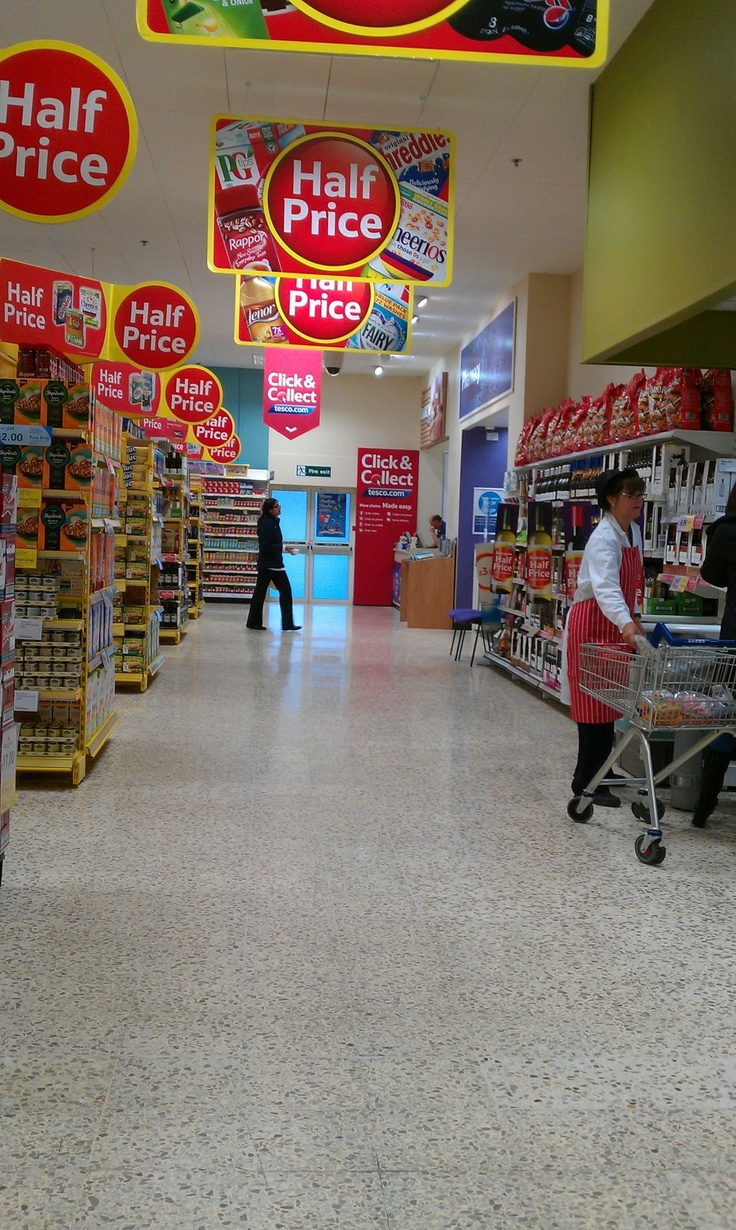 Promotional overload? Tesco (2012)