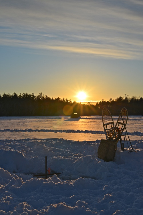 32 best northern maine muskie fishing images on pinterest for Ice fishing maine