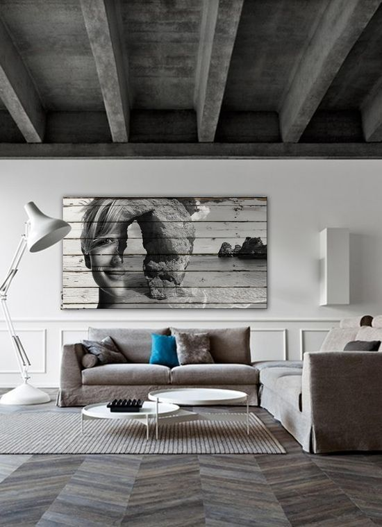 like the color of grey in the ceiling beams