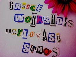 Affordable painting/writing workshops  in Samos,Greece
